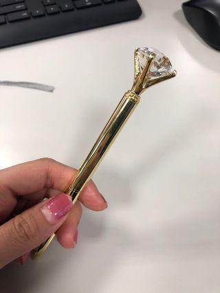 🚚 鑽石造型筆