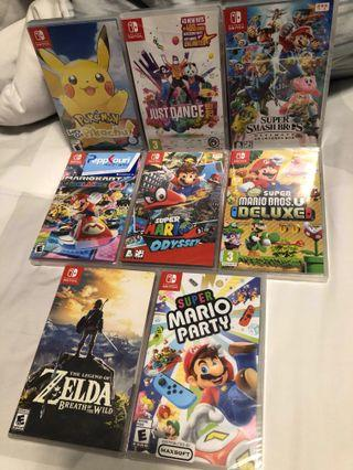 Top Nintendo Switch Games collection
