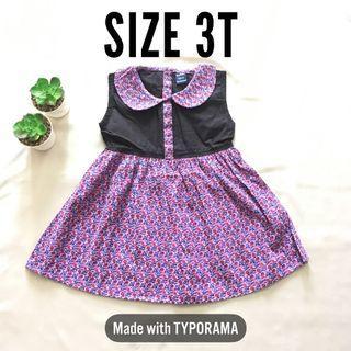 Girl Dress Baju Kembang Cantik
