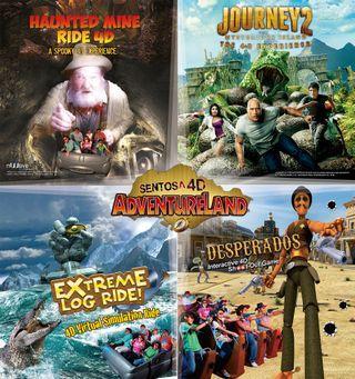 🚚 4D Adventureland 4 in 1
