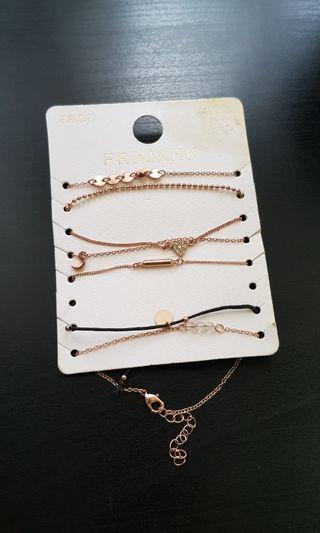 Bracelets from Primark UK