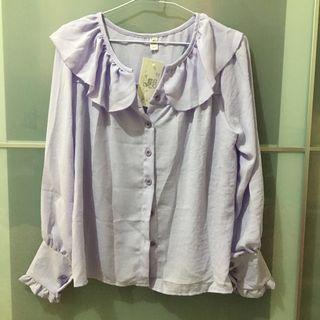 🚚 淡紫色襯衫上衣 #半價衣服拍賣會