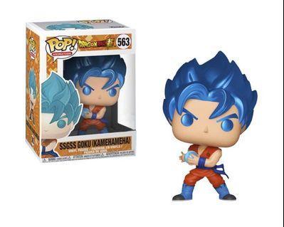 Pre-order Metallic SSGSS Goku funko pop