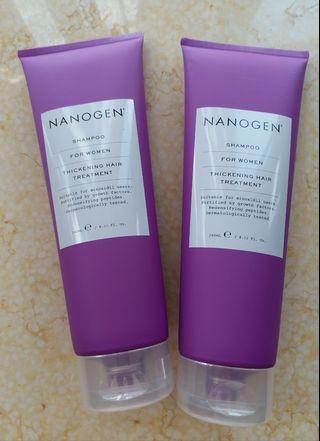Nanogen 女士頭髮生長因子洗頭水
