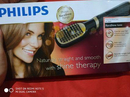 Philips, sisir catok kerashine range, with shine Therapy
