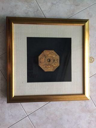 Old Compass 3D picture frame
