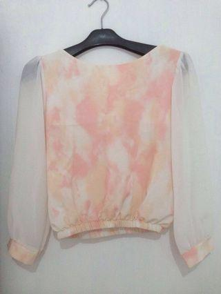 blouse crop - bangkok