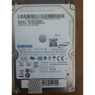 SAMSUNG 筆電硬碟500GB