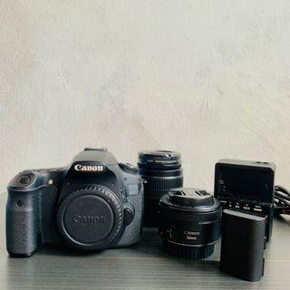 Canon Eos 60D, Canon EF Lens 50mm 1:1.8 STM & Canon Zoom Lens EF-S 18-55mm 1:3.5-5.6 IS ii