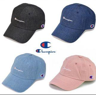 【💥 夏日必備】Champion Cap 帽 (4色入)