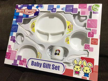 Lusty Bunny Baby Gift Set - Feeding Set Bayi