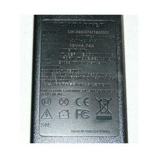 -1338-Power Adapter Model: LW-090/474/190/001 - 19V --- 4,74A fits HP notebook