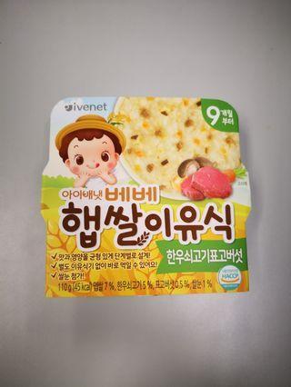 韓國嬰兒即食粥仔
