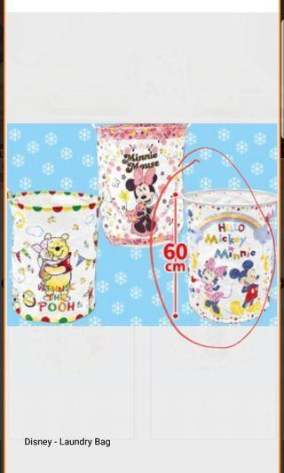 日本Torbea 景品Mickey mouse 60cm布料 收物籃