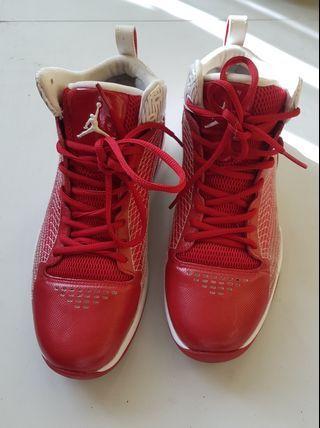 Jordans CP fly 23 varsity red mens US Size 8