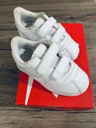 Nike Cortez shoes for toddlers size 10c