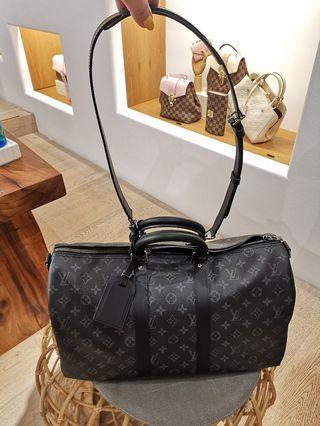 8e3744ca2ca9 Louis Vuitton Travel bag KEEPALL BANDOULIÈRE 45