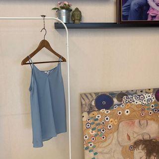 Uniqlo Baby Blue Cami Top