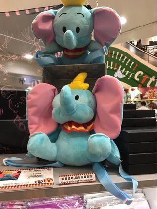 🚚 香港帶回正版小飛象後揹包活動耳朵!