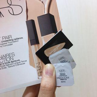(3片)NARS 光亮柔滑遮瑕霜 Radiant Creamy Concealer #MARRON GLACÉ Light 2.8 (0.04ml / 0.2ml 試用裝 sample)