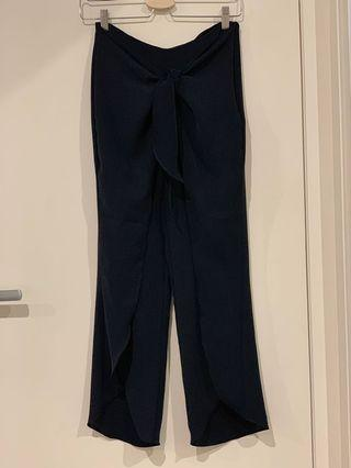 ZARA Split Leg Frill Trousers