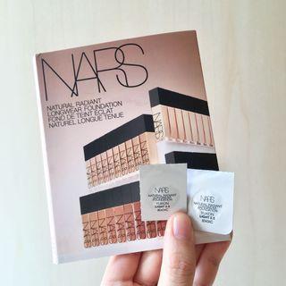 (2粒)NARS 自然亮采持久粉底液 Natural Radiant Longwear Foundation #YUKON Light 2.5 (0.5ml  試用裝 sample)
