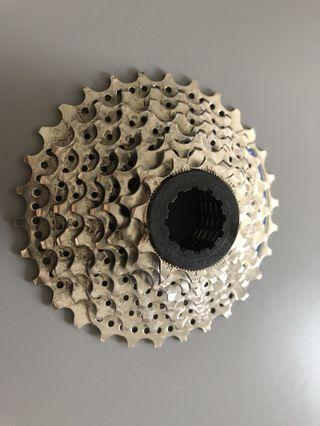 Shimano CS-HG40 8 speed cassette 11-30T