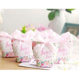Sweet Love Pink Candy Boxes