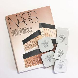 (5粒)NARS 自然亮采持久粉底液 Natural Radiant Longwear Foundation #DEAUVILLE Light 4 (0.5ml  試用裝 sample)