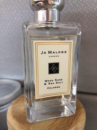 🚚 (近全新🎊專櫃貨)Jo Malone 鼠尾草與海鹽100ML 香水