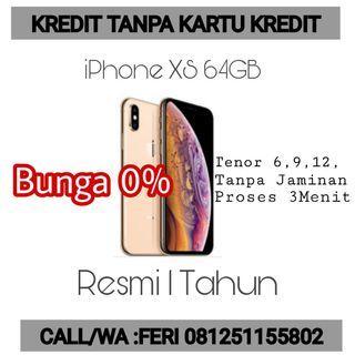 iPhone XS Kredit Cepat Pakai KTP