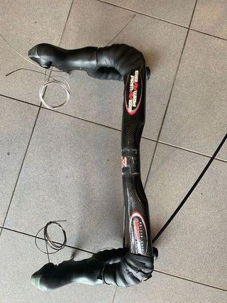 Used Primavera Carbon handle bar with ultegra shifters