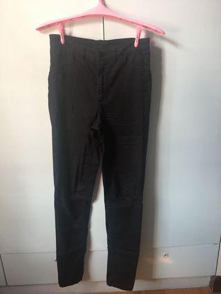 H&M 黑褲薄料
