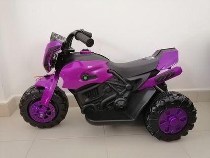 Electronic motorcycle for kids