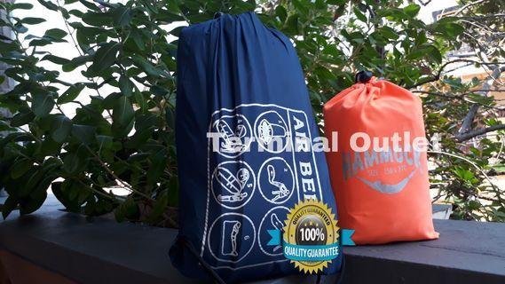 Paket Hammock Tebal + Lazybag