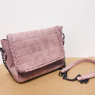 🚚 Cross Sling Bag (Pink/Purple)