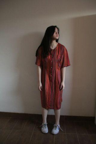 Red grace dress