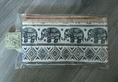 泰國 大象 筆袋