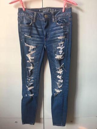 AEO super super stretch Jeans