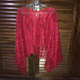 Brukat blouse