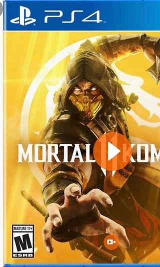 🚚 want to buy(NOT SELLING)ps4 mortal kombat 11