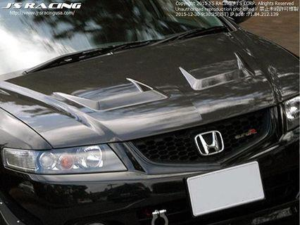 Topmix aka seibon Carbon bonnet Js racing style for Accord EuroR CL7 or CL9 perfect fitment and TOP TOP quality. 1 pc ready stock
