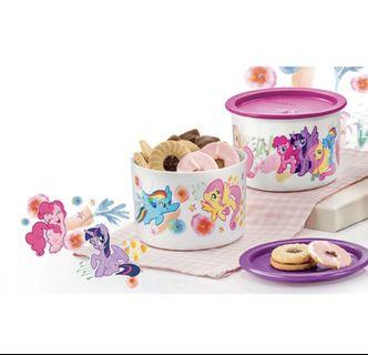 Tupperware One Touch my little pony 600ml