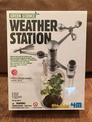 Kidzlab Green Science Weather Station 綠色 科學
