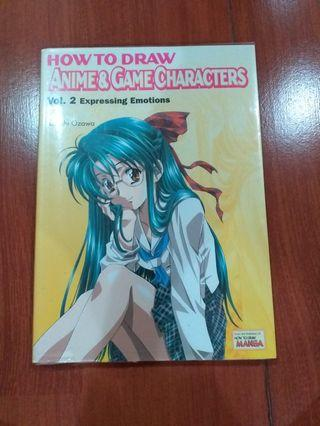 Buku how to draw anime and game characters