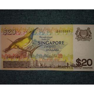 S$20 Bird note