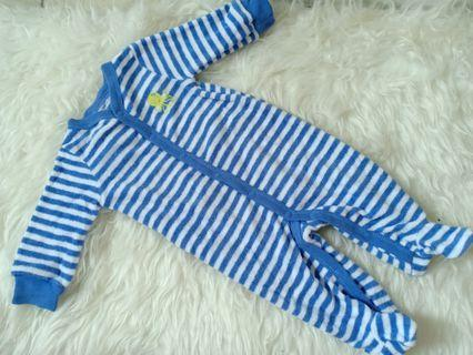 Sleepsuit stripe