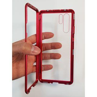 🚚 Huawei P30/P30 Pro Magnetic Casing Cover Red