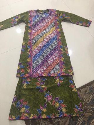 Baju Kurung Moden Batik Terengganu #4