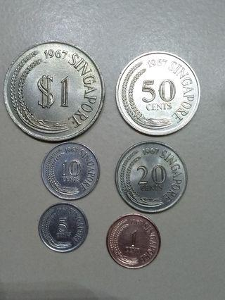 1967 first series coins